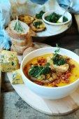 Sopa de calabaza — Foto de Stock