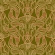 Repaint seamless pattern: Taurus — Stock Vector #54088409