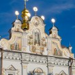 Old white monastery in Kiev Pechersk Lavra. Orthodox Christian m — Stock Photo #57569405