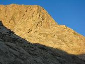 Sunrise Sinai mount, Egypt. — Stockfoto
