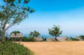 Hut shelters for views Mon Jam, Chiang Mai, Thailand. — Stockfoto