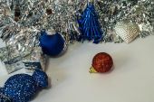 Background of decorated Christmas and New Year. — Stock Photo