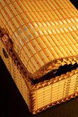 The wicker casket — Stock Photo