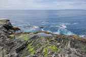 Rocky irish seascape — Stock Photo