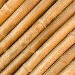 Bamboo fence in diagonal abstract background texture — Stock Photo #53792639