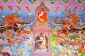 Krabi, tajlandia - 1 listopada: tradycyjny tajski malowideł o — Zdjęcie stockowe