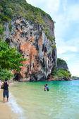 Krabi -Thailand Beach:' Ao Nang' — Stock Photo