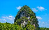 Tropical mountain in Krabi Thailand.JPG — Stock Photo