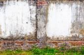 Vecchio muro di cemento — Foto Stock