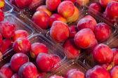 Organiczne brzoskwiń — Zdjęcie stockowe