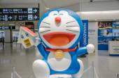 Doraemon mascot — Stock Photo