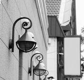 Resident  area  exterior — Stock Photo