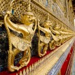 Golden staute of Garuda right side at Emerald Buddha temple, Kin — Stock Photo #53958763