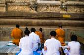Buddhist pray for ritual — Stock Photo