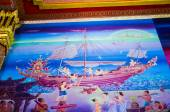 Thai traditional painting — Stock Photo
