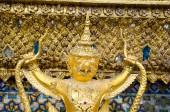 Golden staute of Garuda close up — Stock Photo