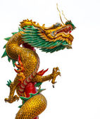 Old Chinese Dragon Statue — Stockfoto