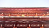 Roof of Senjoji temple in Japan — Stock Photo