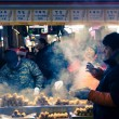 Traditional Korean street food   in South Korea. — Stock Photo #69895551