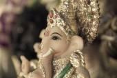 Ganesh ,elephant god, closeup — Stock Photo