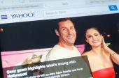 Yahoo Page — Stock Photo