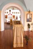 Orthodox church inside — Stock Photo