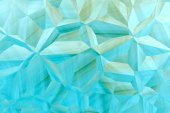 Aquamarine 3D abstract  background — Stock Photo