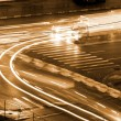 Crossroads night traffic urban — Stock Photo #55014833