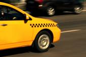 Taxi giallo — Foto Stock
