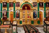 Orthodox church interior — Stock Photo