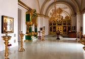 Russian church interior — Stock Photo