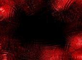 Red glassy frame — Stock Photo
