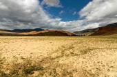 алтайские горы и пустыни — Стоковое фото