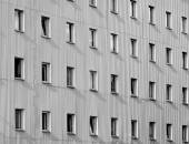 Facade windows — Stock Photo
