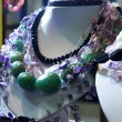 Mannequins necklace colorful stones — Stock Photo #55031381