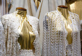 Fashion mannequins macrame — Stock Photo