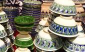 Geleneksel el yapımı çanak çömlek — Stok fotoğraf