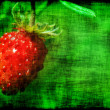 Grunge strawberry — Stock Photo #55041471