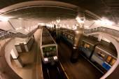 莫斯科地铁站 — 图库照片