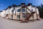 Dwelling house facade — Stock Photo