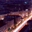 Moscow megalopolis night — Stock Photo #55060553