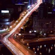 Moscow night traffic — Stock Photo #55064671