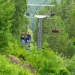 Chair lift couple — Stock Photo #55070725