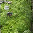 Chairlift couple photographer — Stock Photo #55071059