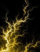 Yellow Electric Voltage — Stock Photo