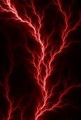 Red Lighting Veins — Stock Photo