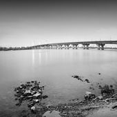 Uzun pozlama köprüsü — Stok fotoğraf