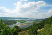 Volga river — Stock Photo