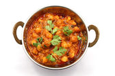 Chana masala Indian Gram Dish — Stock Photo