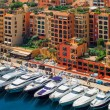 Постер, плакат: Luxury yachts in harbour of Monaco Cote dAzur